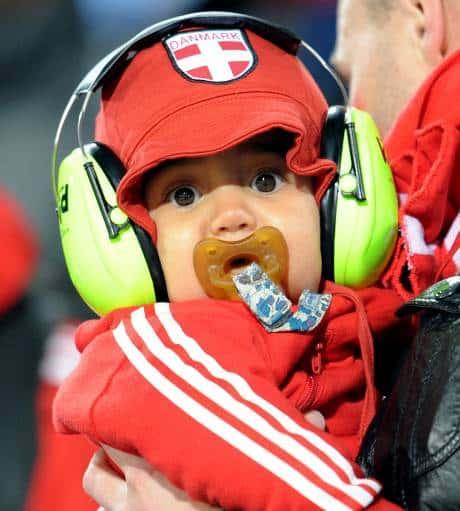 Bébé vuvuzela
