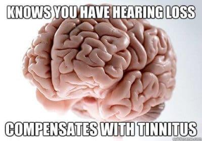 cerveau perte auditive acouphene