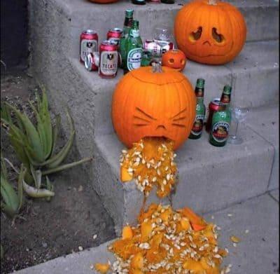 halloween vomi