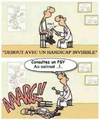 handicap invisible