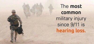perte auditive armee
